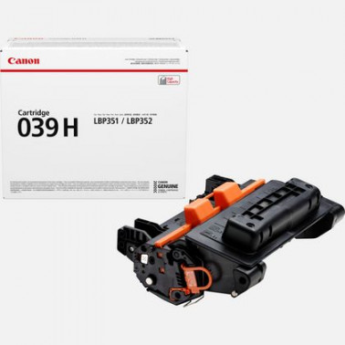 Cartouches Laser CRG 039 H