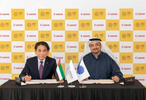 Canon, partenaire officiel de l'Expo 2020 à Dubaï pour l'impression et l'imagerie.